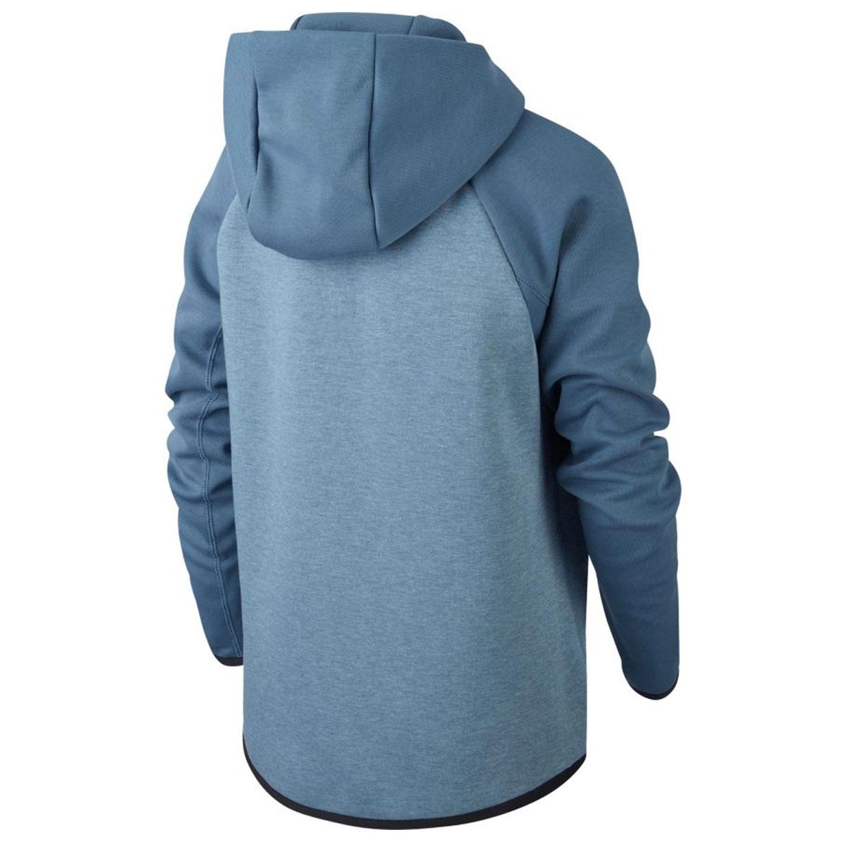 763aa19c737c Nike Tech Fleece Full Zip Hoodie Junior. AR4020 418 Thunderstorm Heather  Black White. Product afbeelding Product afbeelding