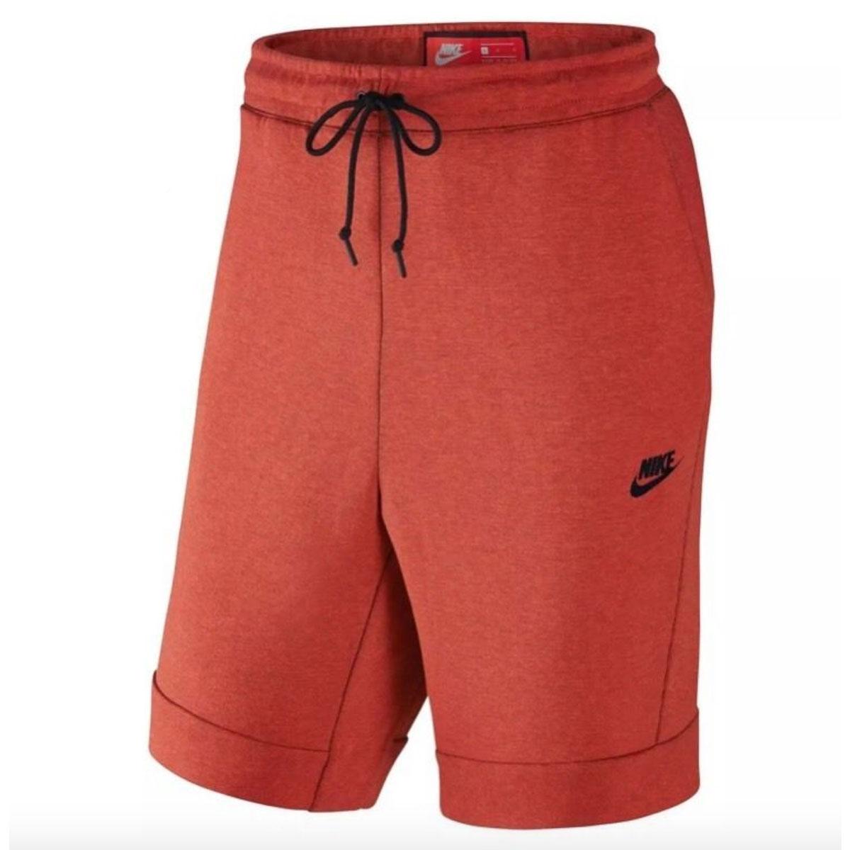 48e450f44351 Nike Tech Fleece Short Junior ROOD online kopen bij Sportpaleis.
