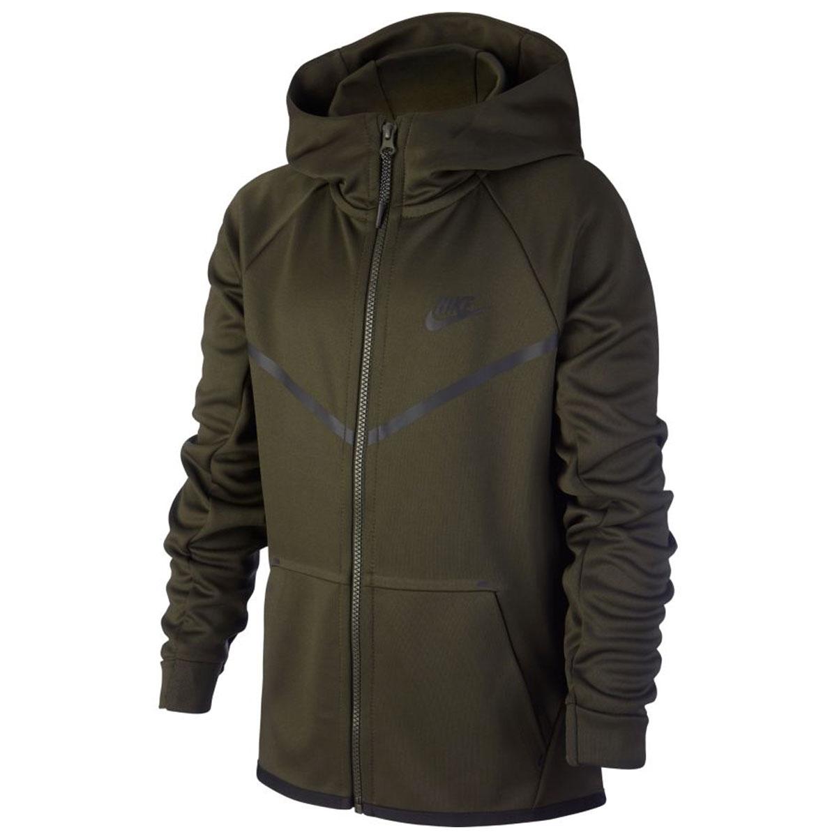 86559a678c8a Nike Tech Poly Icon SSNL Windrunner Full Zip Hoodie GROEN online ...