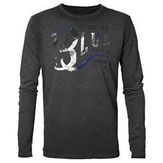 Petrol Industries Round Neck T-Shirt Lange Mouw