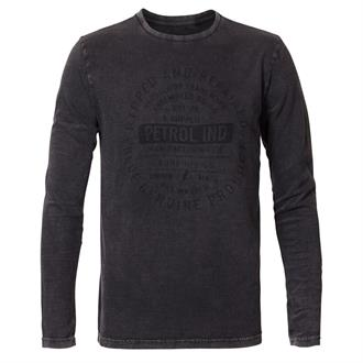 Petrol Industries Round Neck T-Shirt Lange Mouw