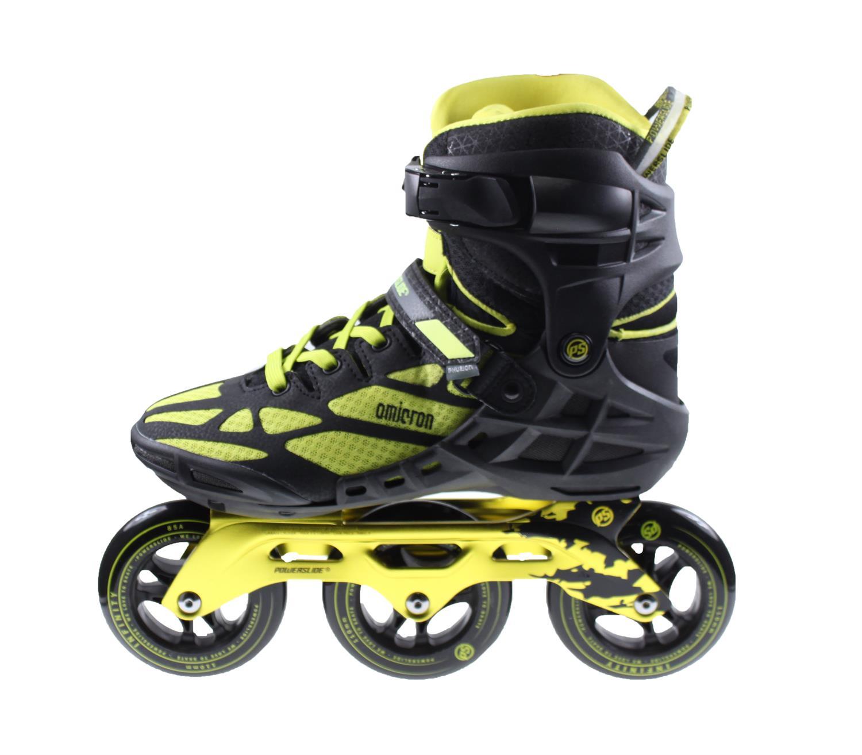 34ad202b099 Powerslide OMICRON 3 WHEEL Inline Skates ZWART/GEEL online kopen bij ...