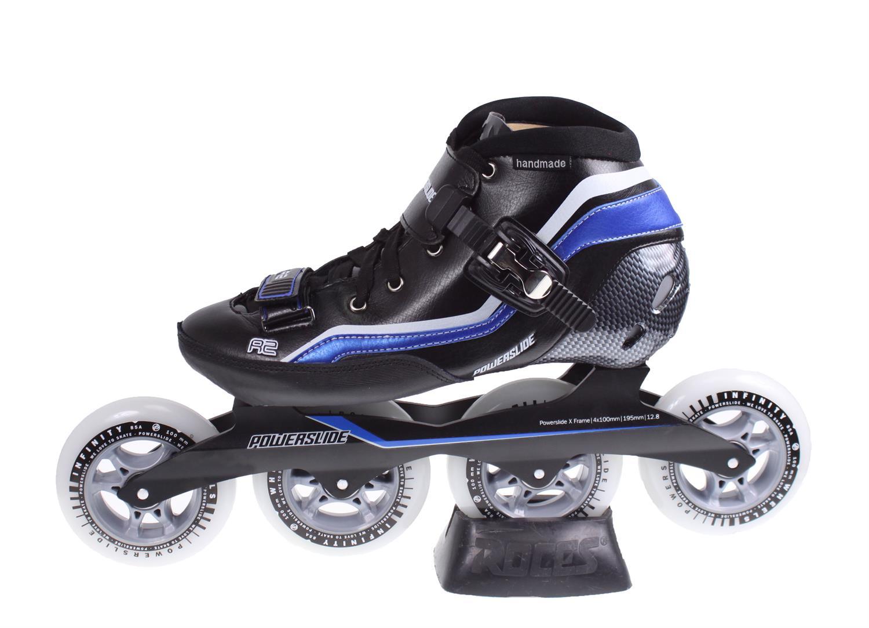 d53fd12a22c Powerslide R2 Speed Skeelers ZWART/BLAUW online kopen bij Sportpaleis.