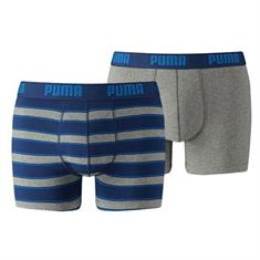 Puma 2-Pack Rugby Stripe Boxershorts