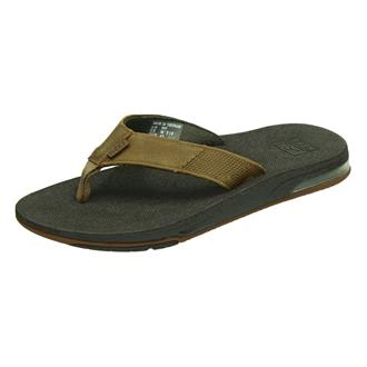 Reef Leather Fanning Low Teenslipper