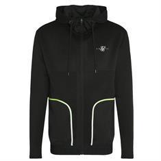 Siksilk legacy fade zip through hoodie