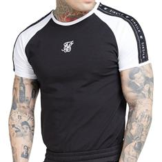 Siksilk Raglan Tape t shirt
