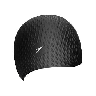 Speedo BUBBLE CAP BLA P12 Badmuts