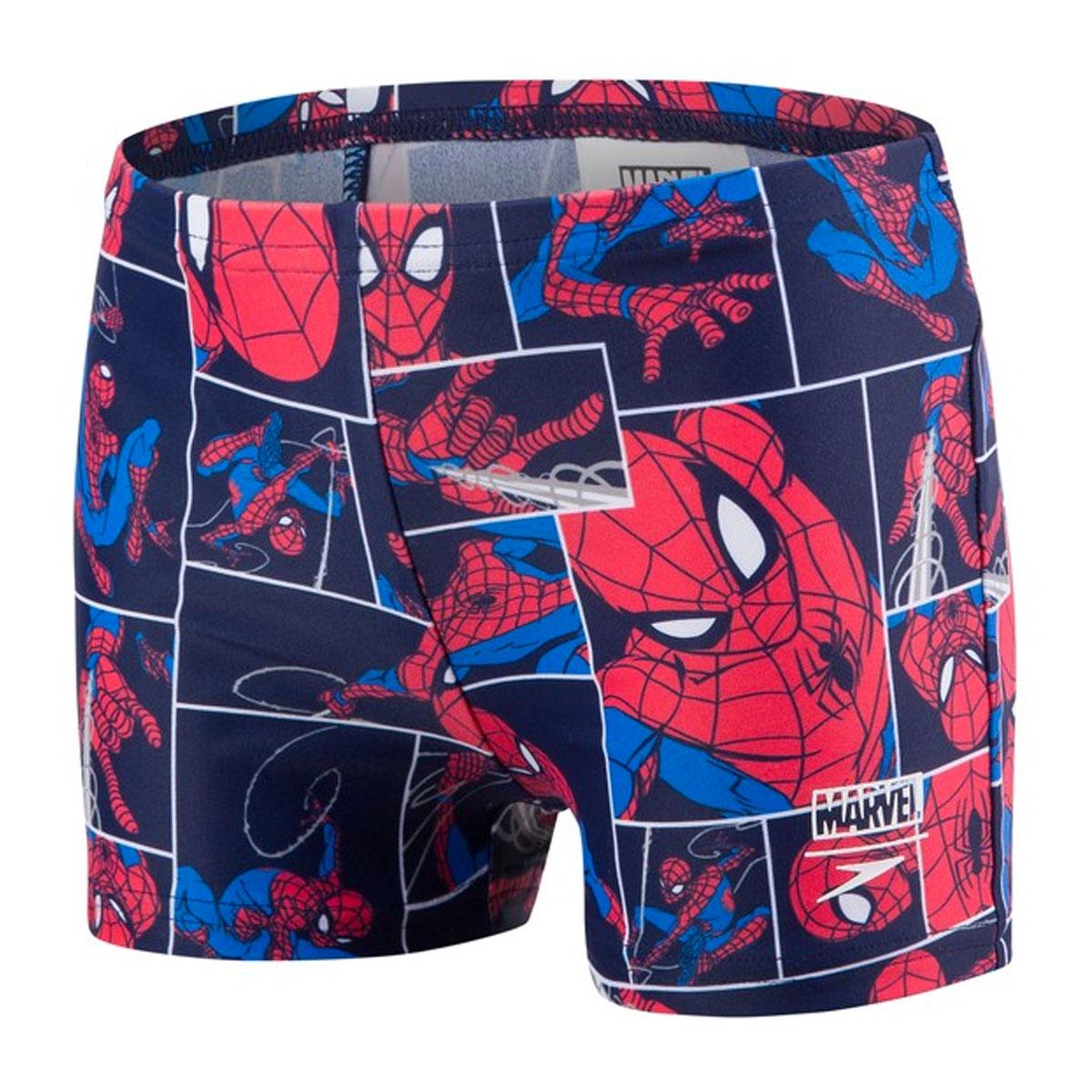 Spiderman Zwembroek.Speedo E10 Disney Marvel Spiderman Zwembroek Blauw Rood Online Kopen
