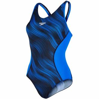 Speedo Fit Splice Allover Muscleback badpak