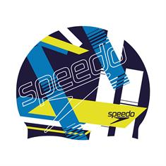 Speedo SLOGAN PRINT CAP NAV/BLU P6