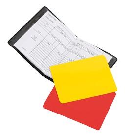 Stanno Scheidsrechter kaartenset met schijfboekje