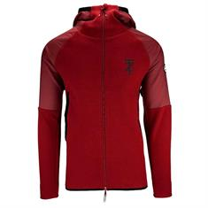 Touzani Cross On Full Zip Hoodie Sweater
