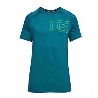 Under Armour SHIRT MK1 GRAPHIC SS-GRN