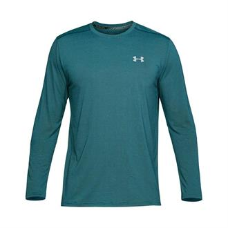Under Armour Threadborne Streaker LS-GRN