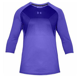 Under Armour Threadborne Vanish 3/4 Sleeve-BLU