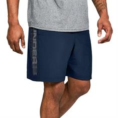 Under Armour UA Woven Wordmark Shorts-NVY