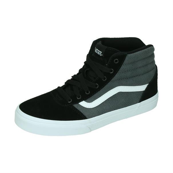 Vans Ward Hi Suede Canvas Junior Sneaker