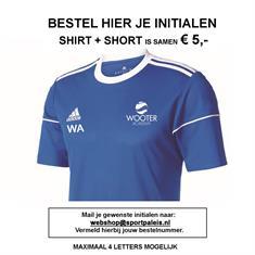 Wooter Academy Initialen Shirt